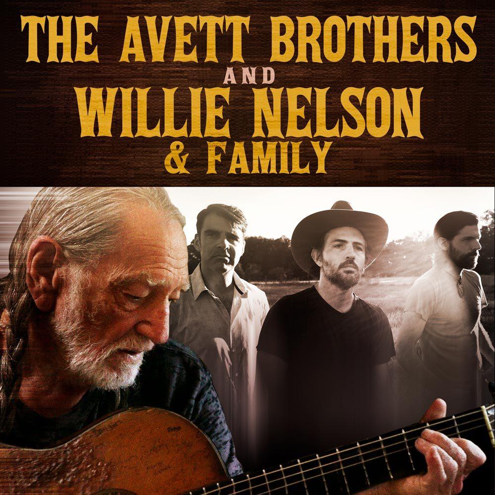 Avett Brothers Willie Nelson - PWB Website
